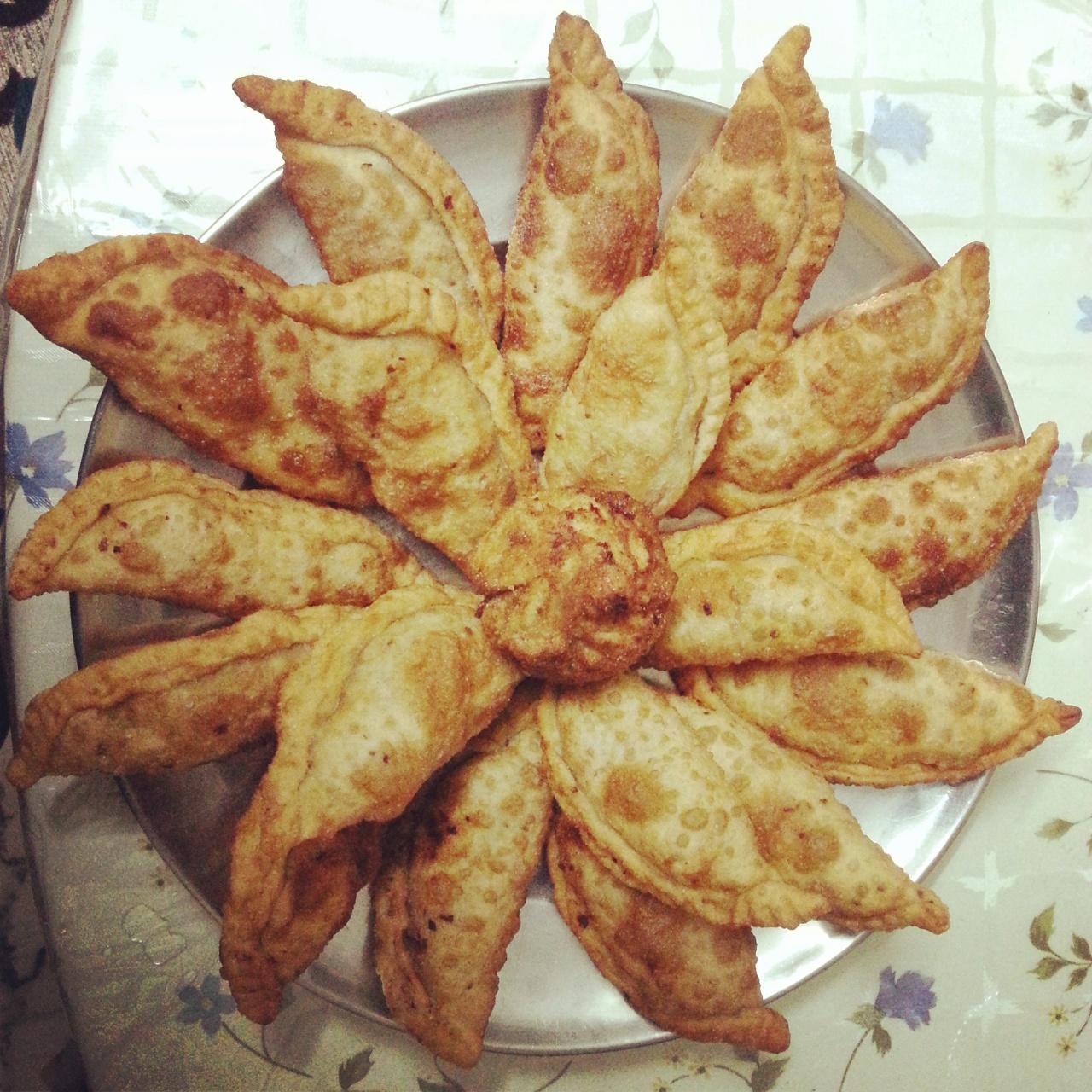 Peas puff (MutterKaranji)
