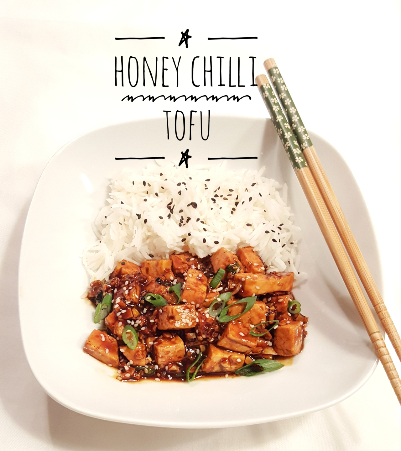 Honey chili tofu