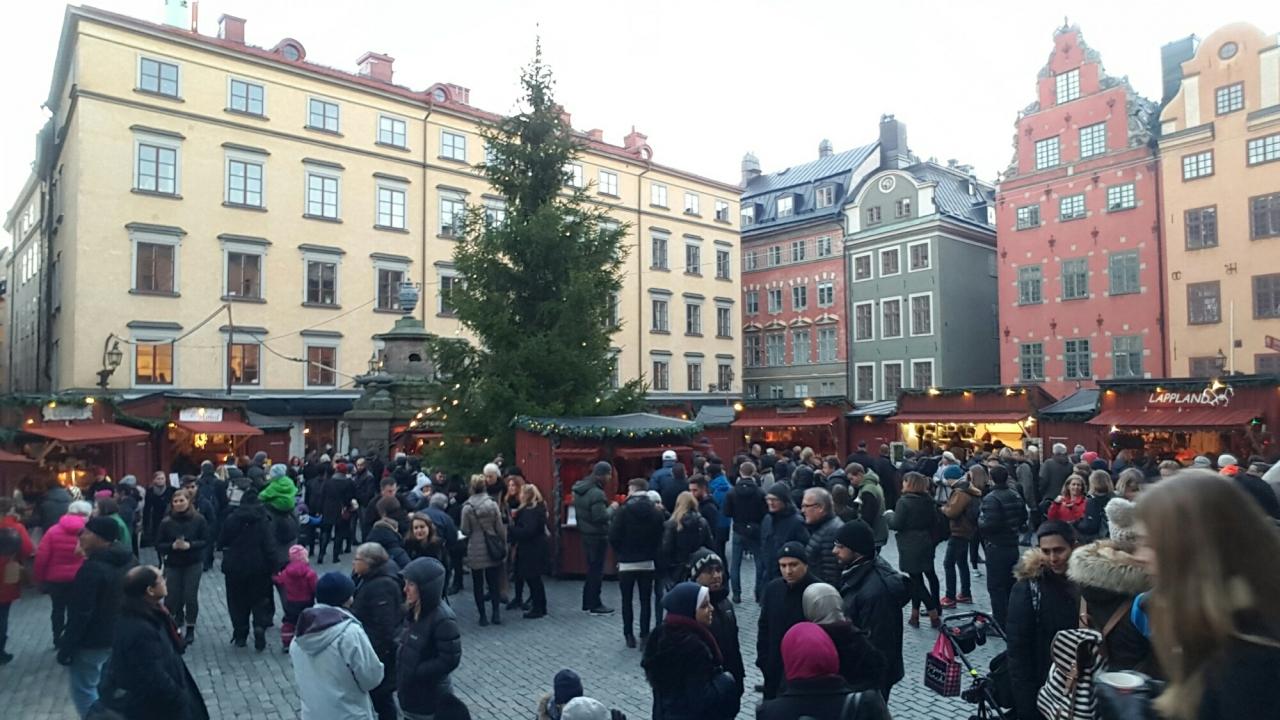 Julmarknaden in Stortorget, Gamlastan