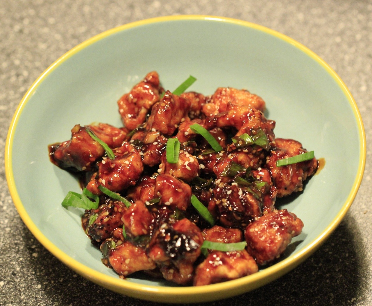 Honey chilli chicken