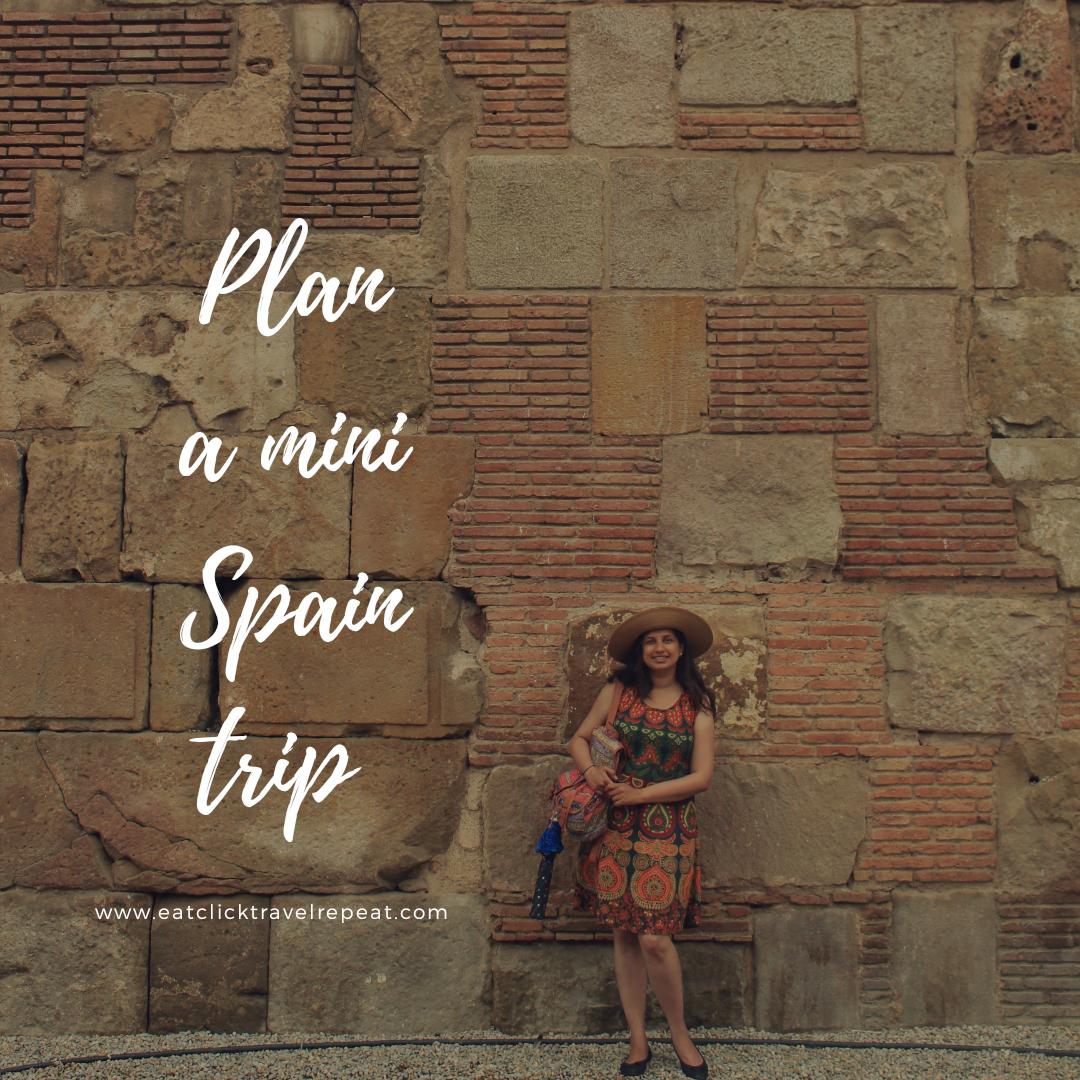Planning a mini Spaintrip
