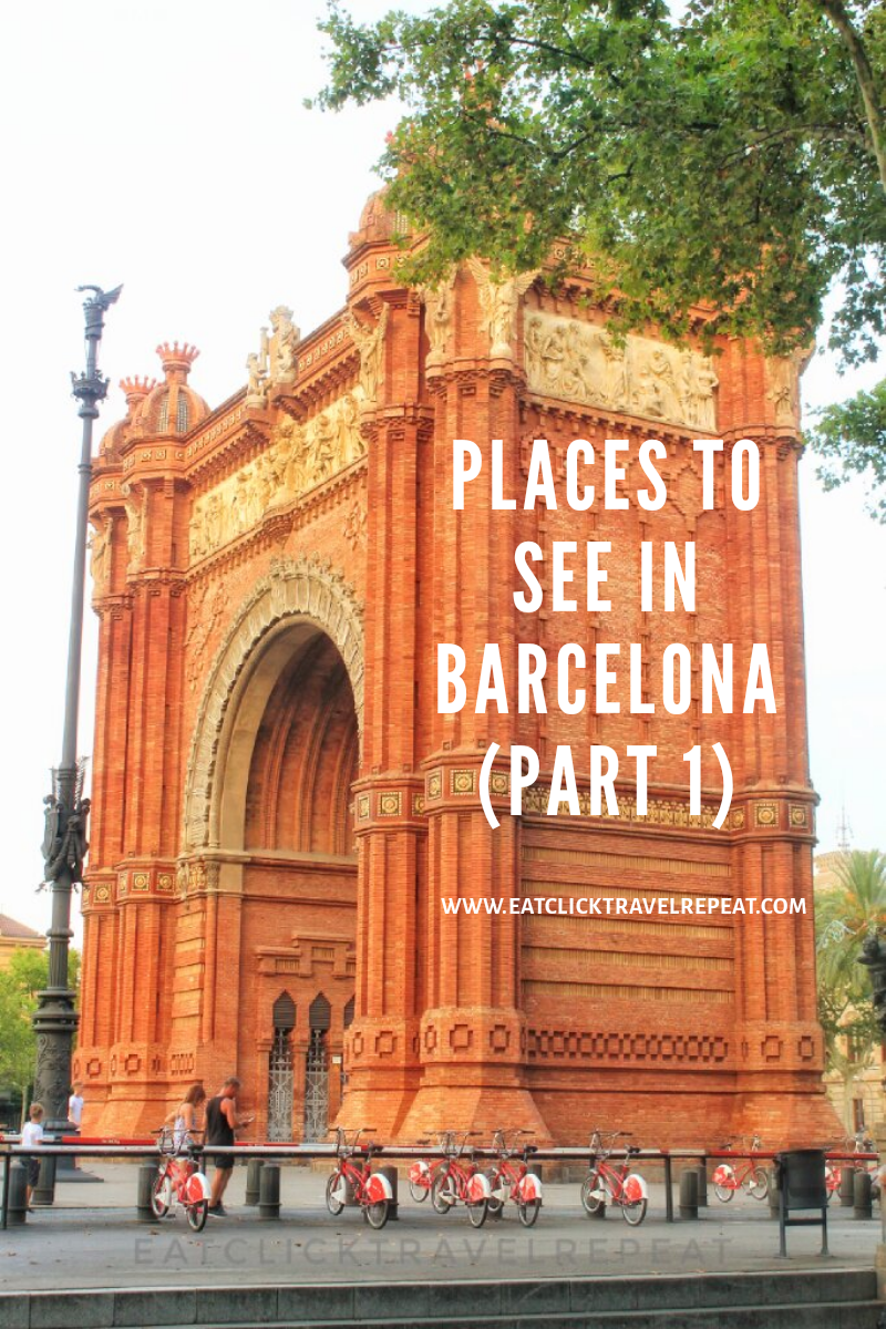 Places to see in Barcelona – part 1